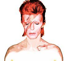 David Bowie - Aladdin Sane by insomnio