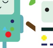Building SnowMO (Green) Sticker