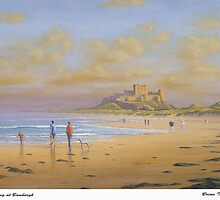 Evening at Bamburgh by Brian Towers
