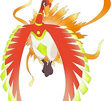 Primal Ho-oh by Tony-Ficticium