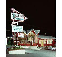 Thunderbird Motor Inn, Lake George NY 1960's Photographic Print