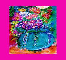 Summer Day Flowers Artist Designed  by innocentorigina