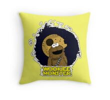 Wookiee Monster... Throw Pillow