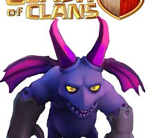 Clash of clans minion by Jungyoomi