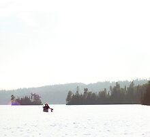 Canoeing the BWCA by sara montour