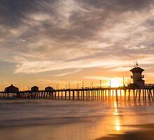 Newport Beach Pier 5 by Nadim Baki