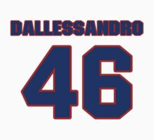 National baseball player Dom Dallessandro jersey 46 by imsport