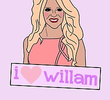 I heart Willam by Anna Iwanuch
