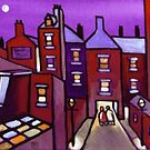 Houses galore (from my original painting) by sword