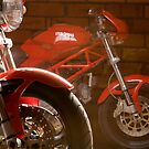 Ducati Monster by Alvin de Quincey