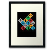 Depeche Mode : Logo Tribute 2 - Color Framed Print