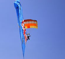 Australia Day Parachuting by Judee12