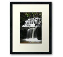 Leura Cascades - Serenity, Blue Mountains, NSW Framed Print