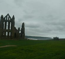 whitby abbey 1 by Wrigglefish
