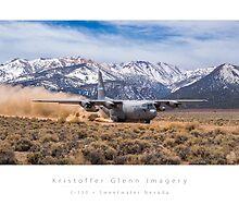 C-130 Hercules Mountain Departure by KristofferGlenn
