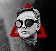 Depeche Mode : Goggles Andrew Fletcher & 2013's Delta  by Luc Lambert