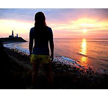 Sunrise at Montauk Photographic Print