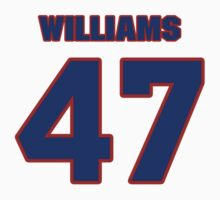 National baseball player Charlie Williams jersey 47 by imsport