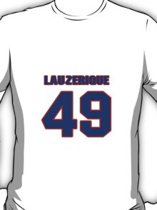 National baseball player George Lauzerique jersey 49 T-Shirt