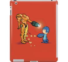 Samus Vs Mega iPad Case/Skin