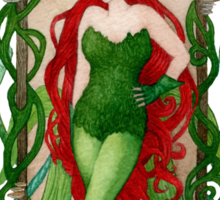 Art Nouveau Ivy Sticker