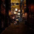 Melbourne Back alley  by Christian  Aas