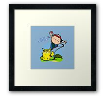 Gunna' Catch 'Em All! Framed Print