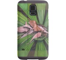 Fantail Palm Plateau (detail section) Samsung Galaxy Case/Skin