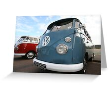 Fine VW Split Screen Greeting Card