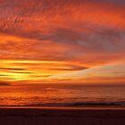 sunset at the bay of banderas II - puesta del sol en bahia de banderas by Bernhard Matejka