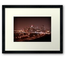 Saint Paul Skyline Framed Print