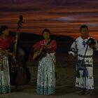 sunset at the bay of banderas III - puesta del sol en bahia de banderas by Bernhard Matejka