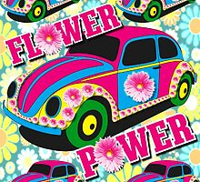 Sixties Flower Power by ELVSmith03