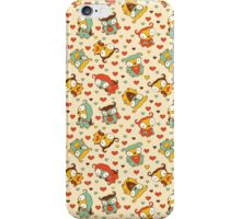 Hear Little Owls Pattern. iPhone Case/Skin