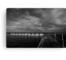 Merewether Storm Clouds 3 Canvas Print