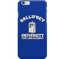 Gallifrey university time lord academy iPhone Case/Skin
