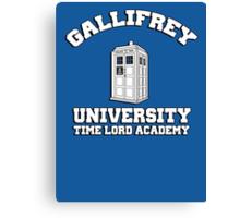 Gallifrey university time lord academy Canvas Print