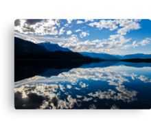 lower Lake before sunset  Canvas Print