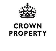 CROWN PROPERTY, THE QUEENS, BRITISH, UK, ENGLAND Photographic Print