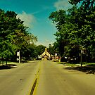Downtown Oconto by Al Mullen