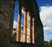Chapel Window by Justine Humphries