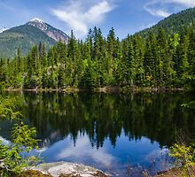 Country life Echo lake  by RevelstokeImage