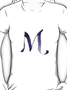 Alphabet M T-Shirt