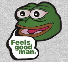 Feels good man - frog meme by bakery