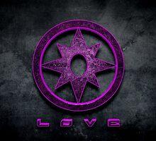 Violet Lantern by BigRockDJ