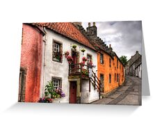 Houses on Tanhouse Brae Greeting Card