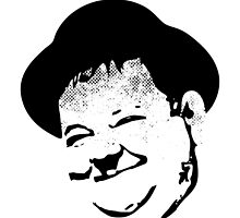 Oliver Hardy by rabassa