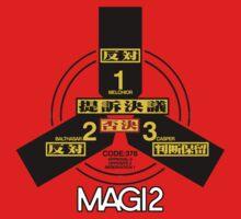 MAGI system - Melchior-1, Balthasar-2, and Casper-3. by bakery