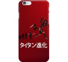 Titan Evolution iPhone Case/Skin