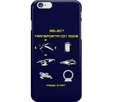 Sci-fi Transportation 2 iPhone Case/Skin
